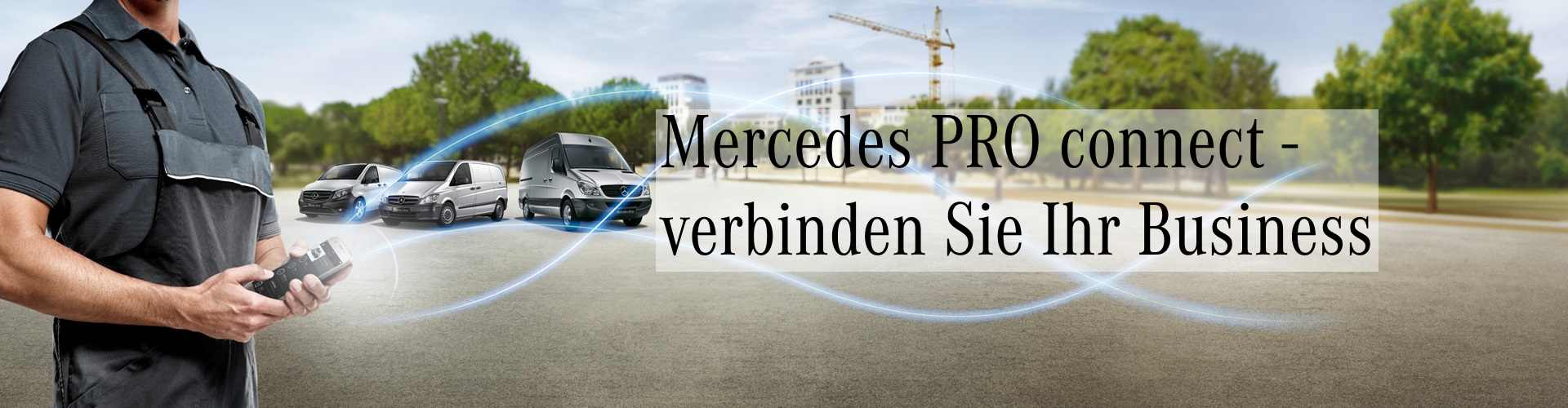 Foto Mercedes PRO connect