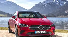 Mercedes Benz CLA Coupe - Frontansicht