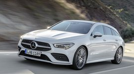 Mercedes Benz CLA Shooting Brake - in Fahrt