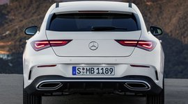 Mercedes Benz CLA Shooting Brake - Heckansicht