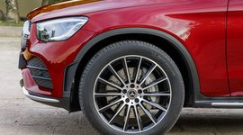Mercedes-Benz GLC Coupe Felgenansicht