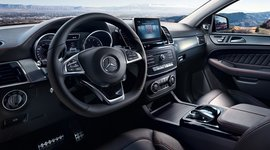 Mercedes-Benz GLE Coupé Cockpit